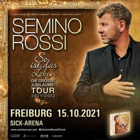 """Semino Rossi - Die große """"So ist das Leben"""" - Jubiläumstour 2020/2021"""