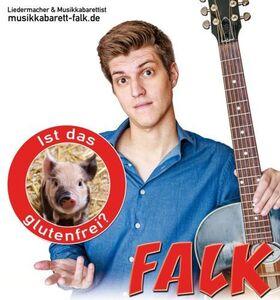 Bild: Live im Kloster: Liedermacher FALK - Ist das glutenfrei?