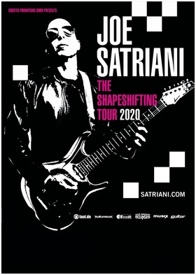 Bild: Joe Satriani - The Shapeshifting Tour 2020