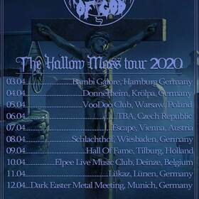 Bild: DENIAL OF GOD / OBSCURE INFINITY - The Hallow Mass Tour 2020