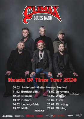 Bild: Climax Blues Band - Hands Of Time Tour 2020