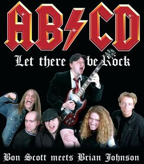 Bild: AC/DC Tribute Night mit AB/CD - Support: MASTERS OF ROCK