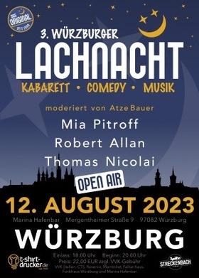 Bild: 2. Würzburger Lachnacht - Das Spaßkonzept mit Erfolgsgarantie