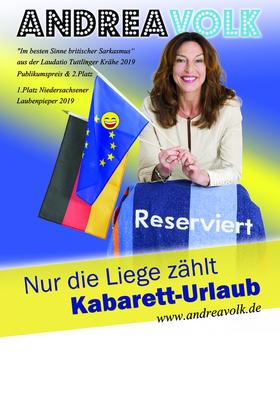 Bild: Andrea Volk - Nur die Liege zählt - Kabarett-Urlaub