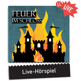Bild: Edgar Wallace - Feuer im Schloss - Live-Hörspiel mit den deutschen Stimmen bekannter  Hollywood-Stars