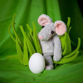 Bild: Mimimaus findet ein Ei (2+)