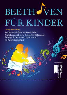 Bild: Beethoven für Kinder - zum 250. Geburtstag - Kinderkonzert mit Musikinstrumenten-Quiz