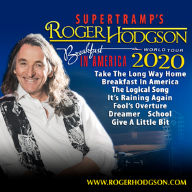 SUPERTRAMP´S ROGER HODGSON | Meet & Greet Upgrade - BREAKFAST IN AMERICA WORLD TOUR