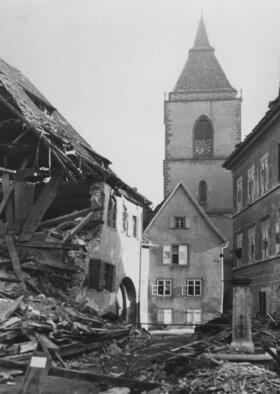 Bild: Konzert zum 75. Jahrestag des Bombenangriffs auf Staufen
