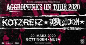 Bild: Aggropunks On Tour: Kotzreiz + Pestpocken + Fuck 0€ - 10 Jahre Aggressive Punk Produktionen