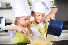 Ferienaktion: Große Küche für kleine Köche