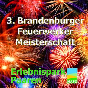 Bild: 3. Brandenburger Feuerwerker Meisterschaft - ...der Himmel wird bunt über Paaren