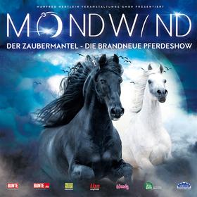 Bild: MONDWIND - Der Zaubermantel - DIE BRANDNEUE PFERDESHOW MIT 50 PFERDEN