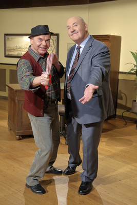 Hannes und der Bürgermeister - mit dem Programm ?Hergott, no hilf mr halt nuff!? Bild 1