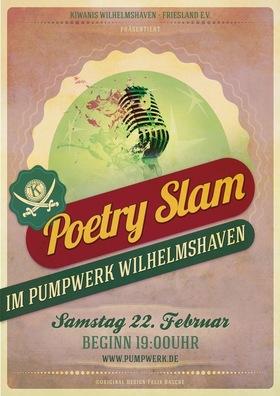 6. Kiwanis Poetry-Slam - 9 Slammer der Region im Kampf um die Krone