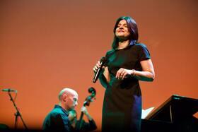 Bild: Jasmin Tabatabai & David Klein Quartett - Jazzkonzert