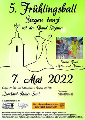 """5. Frühlingsball - """"Siegen tanzt"""" mit der Günther-Matern-Band *Skyliner*"""