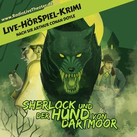 Sherlock und der Hund von Dartmoor - Live-HörSpiel-Krimi des hr2-RadioLiveTheaters.