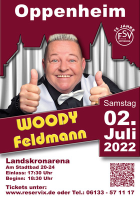 Bild: Woody Feldmann OP(P)EN-AIR - Comedy in Oppenheim