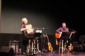 Bild: Duo Manfred Rehm und Michael Ruff -  Kulturschmankerl im Forsthaus