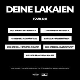 """DEINE LAKAIEN - """"Dual Tour Part I"""""""