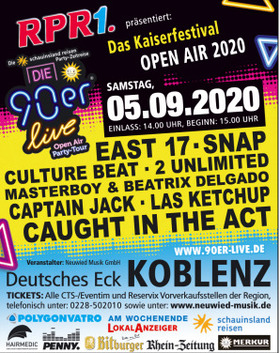 Das Kaiserfestival Open Air 2020 - Die 90er Live - Open Air 2020
