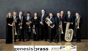 Bild: genesis brass - Jubiläumskonzert zum 10 jährigen Bestehen von proPOS Lippe e.V.
