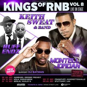 Bild: Kings of RnB 8 - Keith Sweat & Montell Jordan