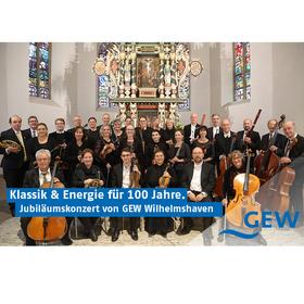 Bild: Klassik & Energie für 100 Jahre - Jubiläumskonzert von GEW Wilhelmshaven