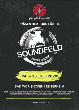 Bild: Fünftes Soundfeld Benefiz Festival - Festivalticket 2020 (mit Camping)
