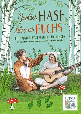 Bild: Großer Hase - kleiner Fuchs (ab 5) - Musiktheater für Kinder