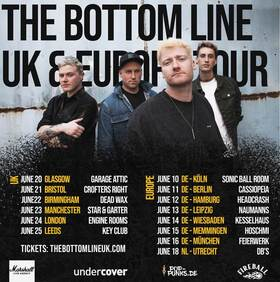 THE BOTTOM LINE - LONG TIME COMING TOUR 2022 •  Special Guest: CADET CARTER