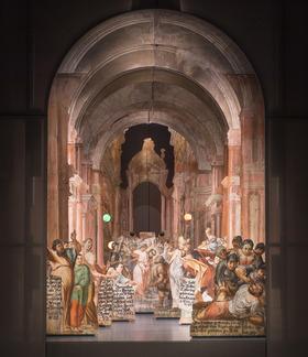 Bild: Hinter den Kulissen im Museum Himmlisches Theater - Sonderführung