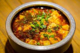 Bild: Di San Xian - Auberginen, Kartoffeln und Paprika
