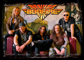 Bild: Bonfire - Fistful of Fire Tour 2020