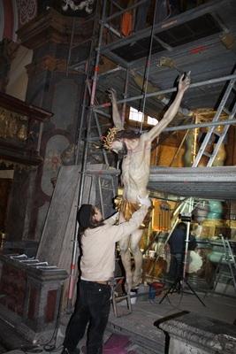 Bild: Restaurierungsprojekte am Beispiel der Evangelischen Kirche - Sonderführung
