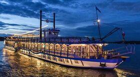 Bild: Country Boat Line Dance - Stern und Kreis