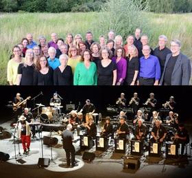 Bild: Come together! - Heidelberger Jazzchor meets SRH Bigband