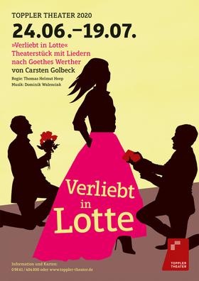 Verliebt in Lotte - Theaterstück mit Liedern nach Goethes Werther