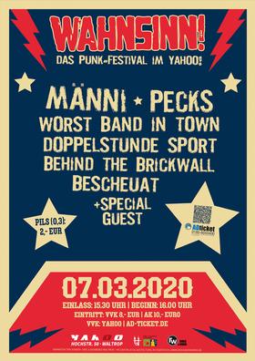Bild: Wahnsinn Festival 2020 - Punkrock in Waltrop