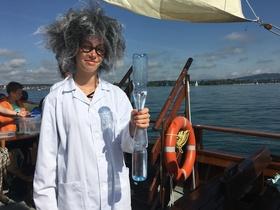 Bild: Forscherschiff Lädine für die Saison 2020 - Forscherfahrten mit der Lädine