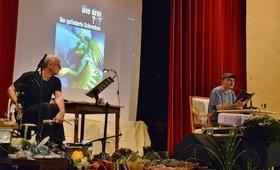 Bild: Christoph Dittert und Jörg Klinkenberg Live - Die drei ??? und die schweigende Grotte - 10 JAHRE MORDSHARZ - Das Festival-Jubiläum!