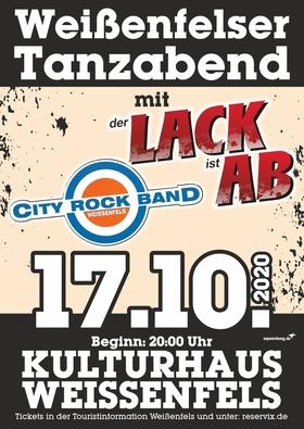 Bild: Weißenfelser Tanzabend - mit LACK AB und City Rock Band Weißenfels
