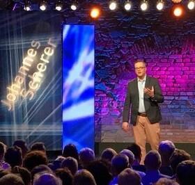 Bild: Moderation: Johannes Scherer - Tetra-Pack, die Comedy Show