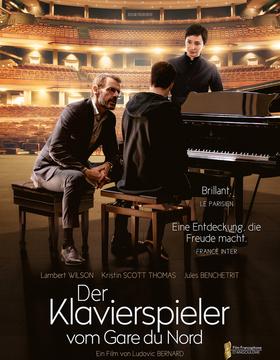 Bild: Der Klavierspieler vom Gare du Nord - Kino in der Bibliothek