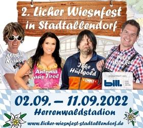 Bild: Licher Wiesnfest in Stadtallendorf