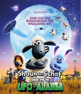Bild: Shaun das Schaf - UFO-Alarm - Kino in der Bibliothek
