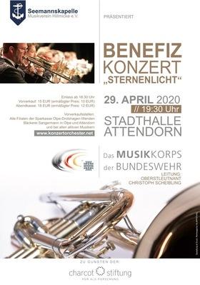 Benefizkonzert Sternenlicht - des Musikkorps der Bundeswehr zugunsten der Charcot-Stiftung für ALS-Forschung