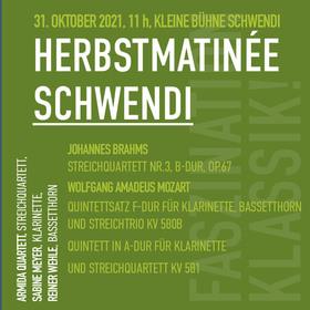 Bild: Herbst Matinée Schwendi - JOHANNES BRAHMS, WOLFGANG AMADEUS MOZART