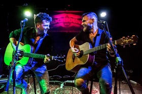 Bild: Ben Poole (UK) & Guy Smeets (NL) Acoustic Duo
